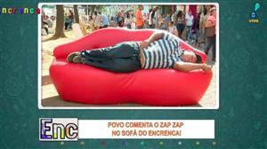 Galera comenta o Zap Zap no Sofá do Encrenca