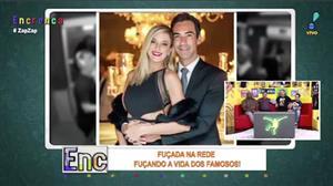 Fuçada na Rede repercute a volta do casal César Tralli e Ticiane Pinheiro