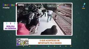 Menina de 19 anos sobrevive após ser atropelada por trem