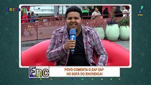 """Rapaz alerta Tatola: """"Cadê o Mundial do Palmeiras?"""""""