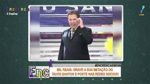 Grave sua imitação do Silvio Santos e concorra a R$ 1 mil