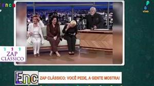 Zap Clássico: atrizes choram de rir em entrevista ao Jô