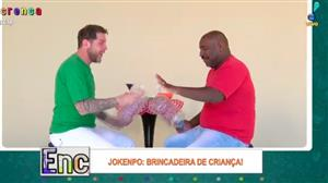 Galera do Encrenca se diverte com Jokenpo