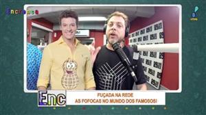 """Rodrigo Faro é alvo do """"Encrenca"""" após foto com gelo nas partes íntimas"""