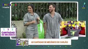 Carlão canta pedestres com música de Carnaval
