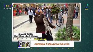 """""""Canteixon"""": Mulher dá show ao cantar Shania Twain"""