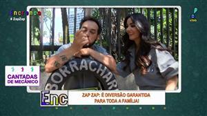 """""""Cantadas de Mecânico"""": Biscui e Carlão divertem pessoas na rua"""