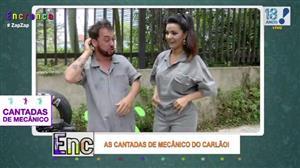 'Cantadas do Carlão' dá 'adiantamento de tapa' em Biscui