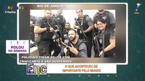 Policiais tiram selfies com traficante e são suspensos