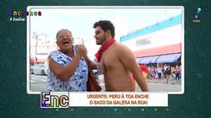 """Idosa requebra com a """"Dança do Peru"""""""