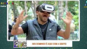 Em tempos de realidade virtual, o mico é garantido