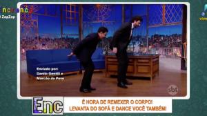 Dança do Peru: Até Danilo Gentili entrou na brincadeira!