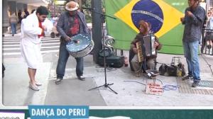 Dança do Peru: Dançando na Avenida Paulista