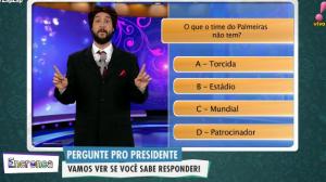 Pergunte pro presidente: O que o Palmeiras não tem?