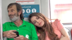 Ombro amigo: Acordou todo mundo no trem