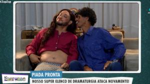 Piada pronta: papa capim não sabe ser um bom marido