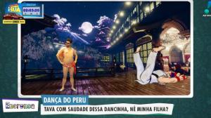 Dança do Peru: Dançando na 25 de março em São Paulo
