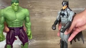 Piada pronta: Batman x Hulk