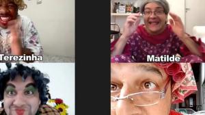 Live das vovós: Fazendo simpatia pela internet