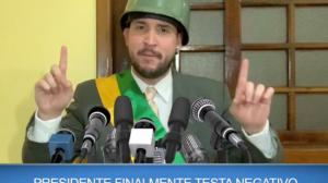 Jairzinho: Presidente está livre do vírus