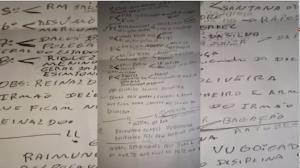 Lista mostra agentes penitenciários marcados para morrer em Roraima