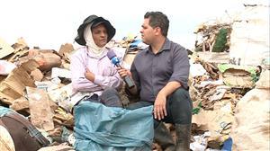 """""""Meu dinheiro é limpo"""", diz catadora do maior lixão da América Latina"""