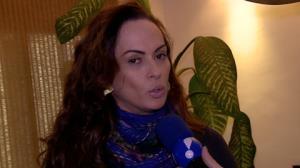 N�bia Oliiver conta que teve crise de p�nico em avi�o