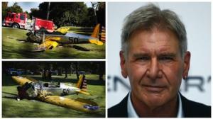 Harrison Ford sofre acidente de avi�o nos EUA