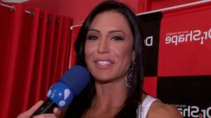 Gracyanne Barbosa dan�a '� o Tchan' at� o ch�o