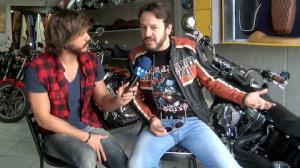 Celso Zucatelli revela paix�o por motos: 'Pa�oca adora passear comigo'