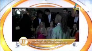O casamento de Nen�m e Thais � destaque em S�o Paulo