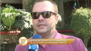 Felipeh Campos detona Mara Maravilha