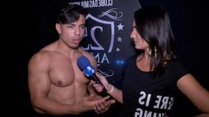 Stripper Lucas G�is ataca de Magic Mike em show picante