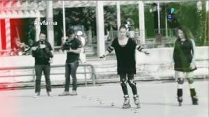 Atriz global patina com Ang�lica no Rio