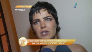 Ana Paula Ar�sio reaparece em filme