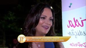 Luiza Brunet garante que 'book rosa' � coisa antiga