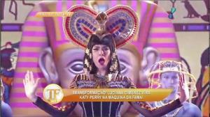 Luciana Gimenez vira Katy Perry na 'M�quina da Fama'