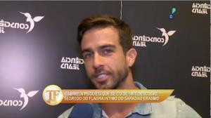 Erasmo Viana comenta pol�mica envolvendo namoro com Gabriela Pugliese