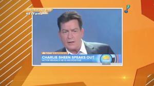 Charlie Sheen teria v�deo fazendo sexo com outro homem