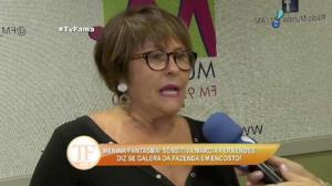 Marcia Fernandes fala sobre energia de Mara Maravilha