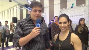 Bella Falconi brinca com Felipe Camargo: 'Felipe, pode voltar a me seguir'