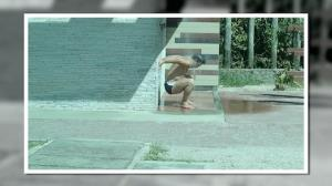 Marcos Frota esfria a cabe�a e faz alongamento debaixo do chuveiro