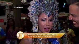 'Abd�mem muito definido n�o combina com carnaval', admite Gracyanne Barbosa