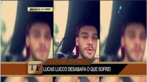 Lucas Lucco faz desabafo em rede social:
