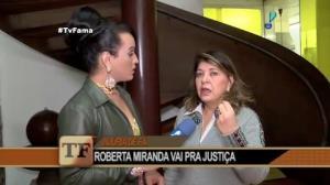 Roberta Miranda � amea�ada de morte por f�
