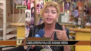 Cabeleireira revela detalhes de trai��o em biografia de Susana Vieira