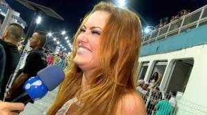 """Ellen Rocche brinca sobre fantasia para o Carnaval: """"Acho que venho pelada"""""""