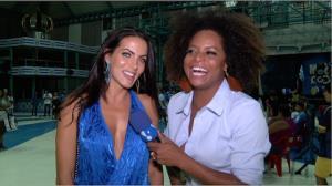 Carla Prata enxuga oito quilos e mostra cinturinha de pilão para o Carnaval