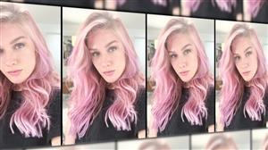 Fiorella Mattheis deixa para trás fios loiros e surpreende com cabelo rosa