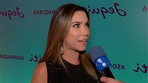 Patrícia Abravanel nega que filha se chamará Jane após brincadeira